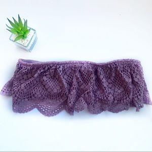 Victoria's Secret   new purple flouncy bralette